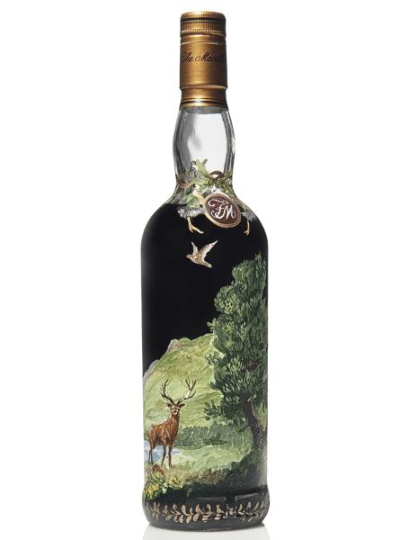 Zweitteuerster Whisky der Welt - Macallan 60 von hinten