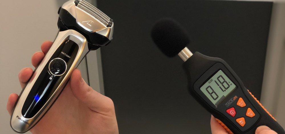 Panasonic ES-LV65 Rasierer Lautstärke-Test