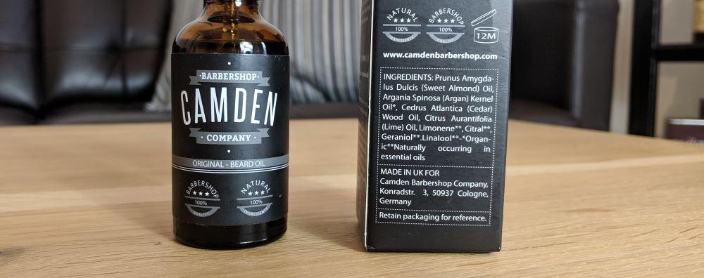 Camden Bartöl Test: Die Inhaltsstoffe