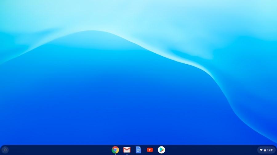 Chrome OS Oberfläche