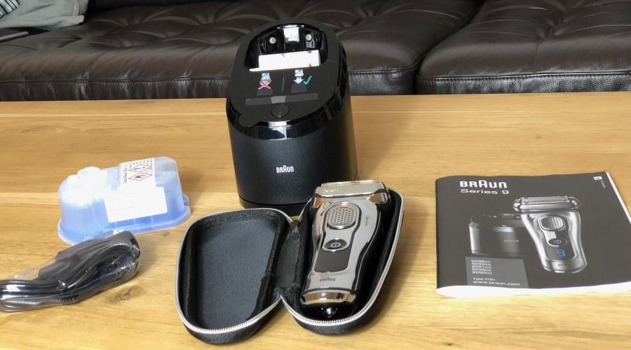 Braun Series 9 Rasierer Ausstattung Rasierer Test