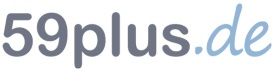 59plus.de Logo