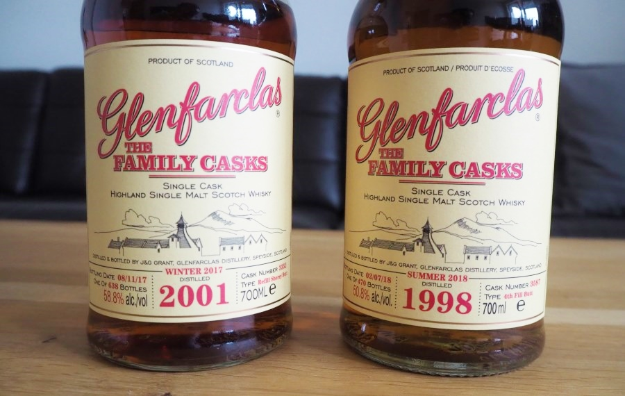 Glenfarclas Single Cask Whiskys
