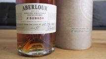 Whisky mit Batch Angabe