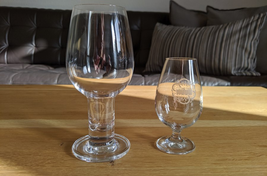 Whiskyglas Bauchform