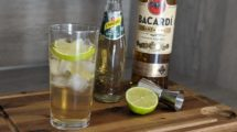 Rum Ginger Ale