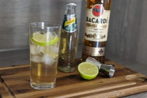 Rum Ginger Ale