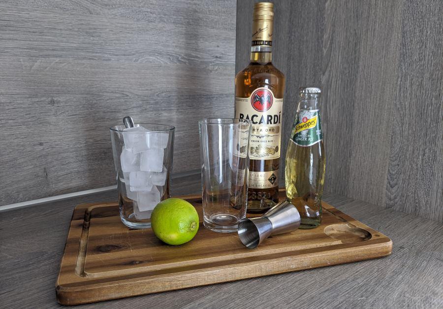 Rum Ginger Ale Zutaten