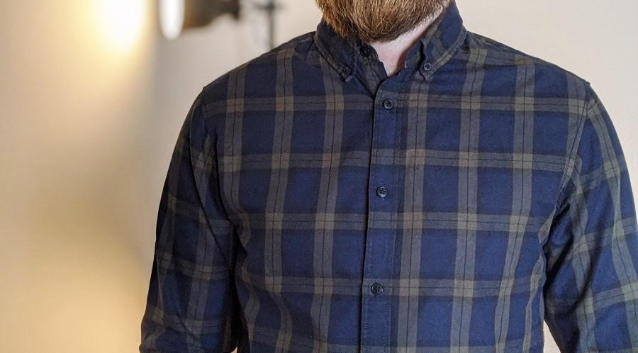 Button-Down Hemd