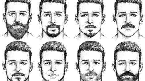 Bart-Styles und Bartfrisuren