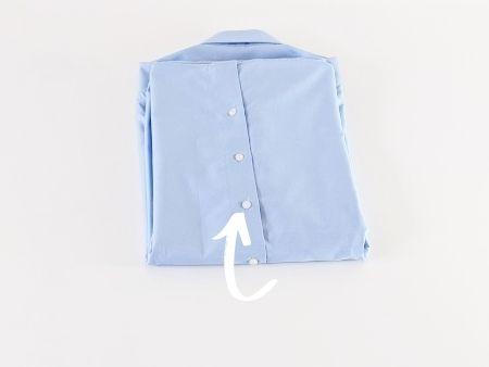 Hemd falten Schritt 6