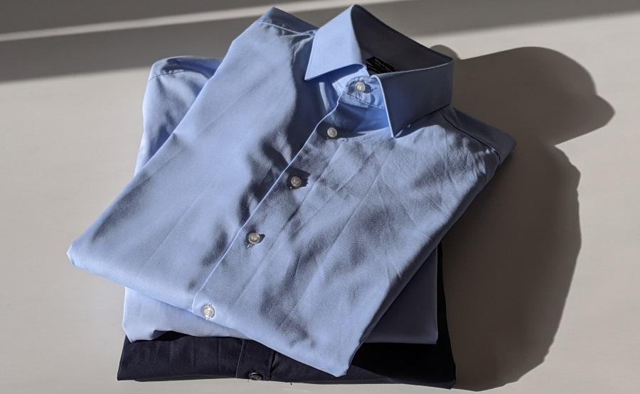 Gefaltete Hemden