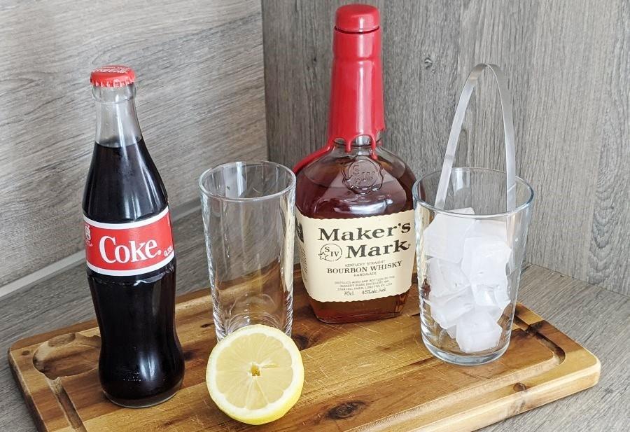 Whisky-Cola Zutaten