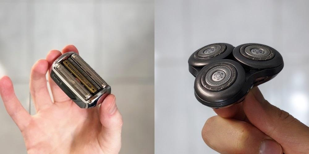 Ersatz-Scherkopf (Folienrasierer / Rotationsrasierer)