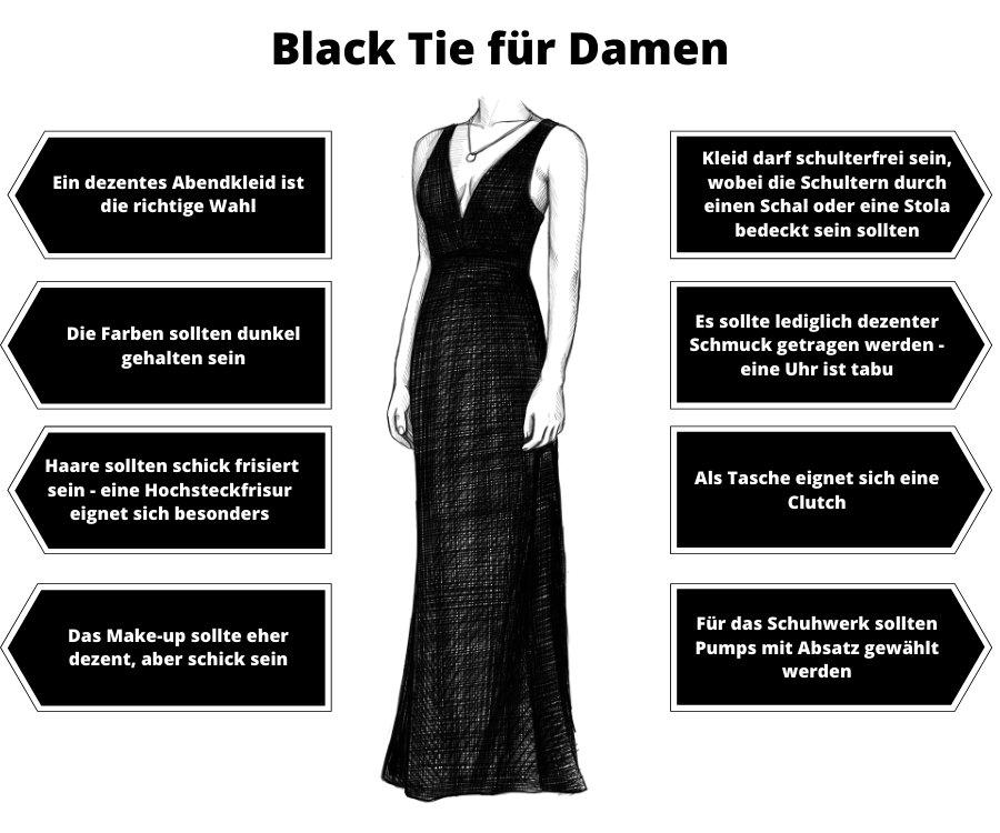 Black Tie Damen