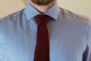 Einfacher Windsor Krawattenknoten