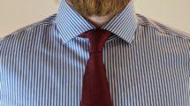 Four in Hand Krawattenknoten