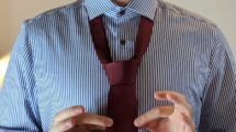 Krawatte binden