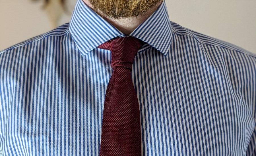 Prinz Albert (Doppelknoten) Krawattenknoten