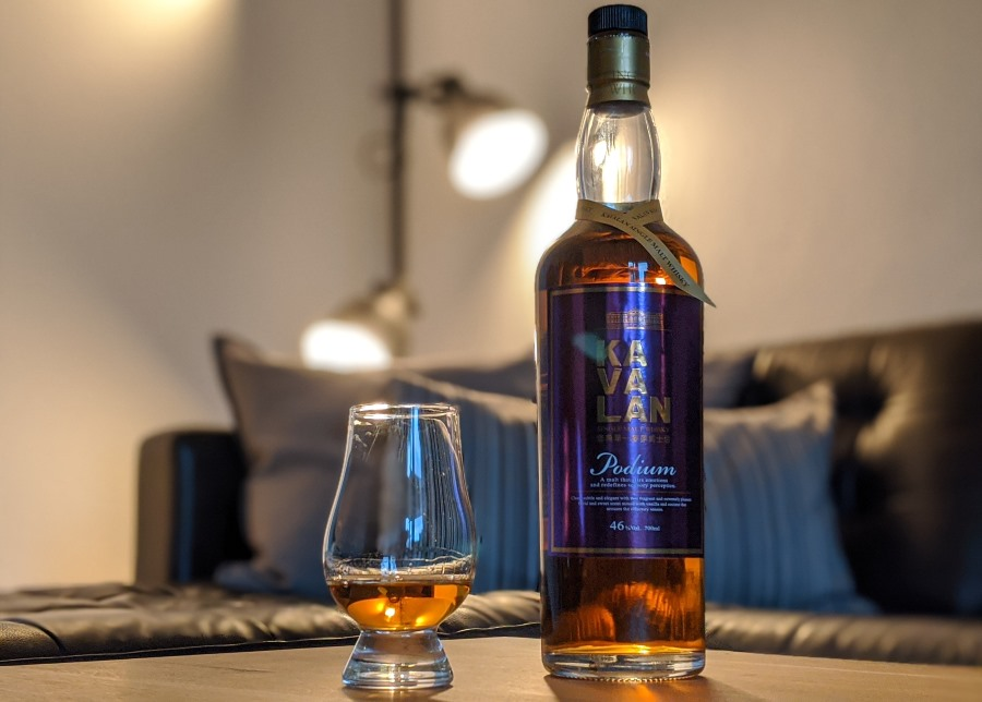 Kavalan Podium Whisky Verkostung