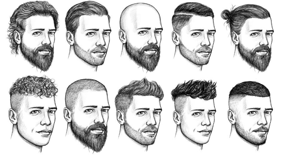 Männerfrisuren