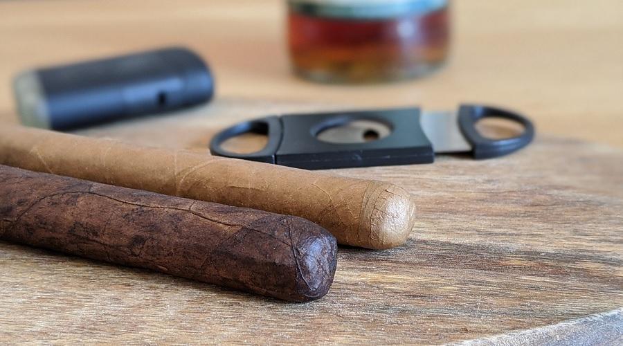Zigarren Stärke und Farbe