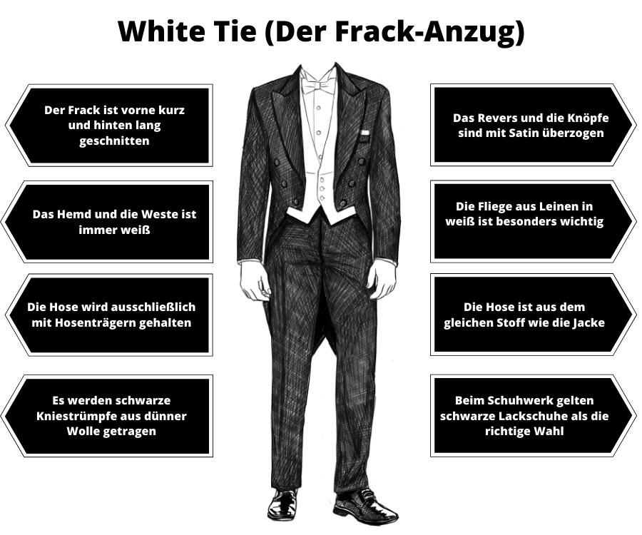 White Tie Herren