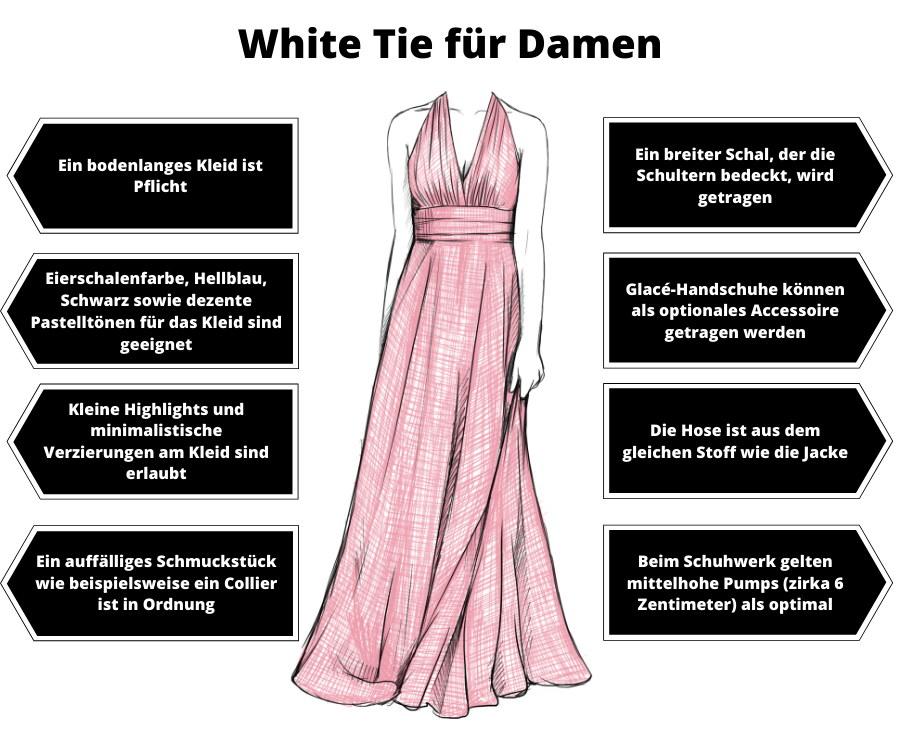 White Tie Damen